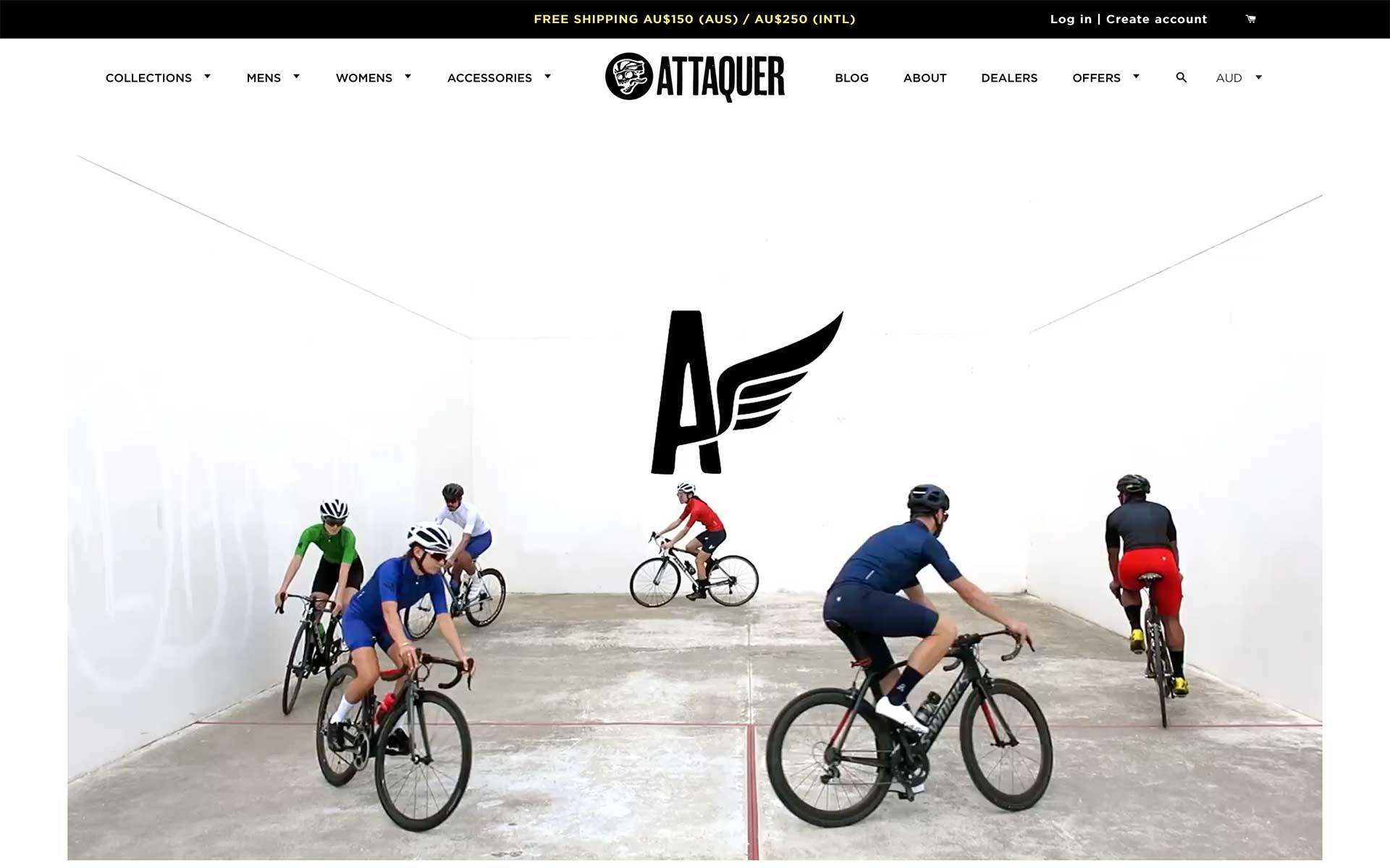 Attaquer 官方網站擷圖